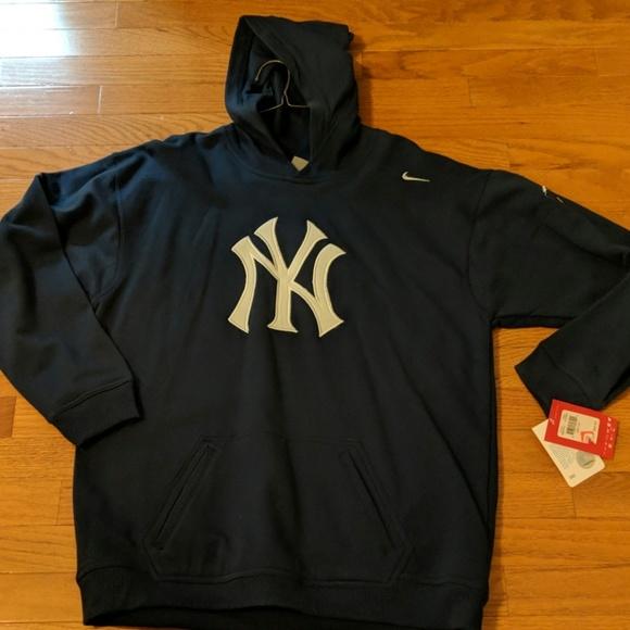 new styles 07807 3b132 NIKE MLB YANKEES! navy & white hooded sweatshirt. NWT